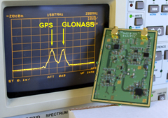GPS + GLONASS capability available for LabSat in April